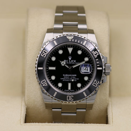 Rolex Submariner Date 116610LN Black Dial - 2018 Box & Papers