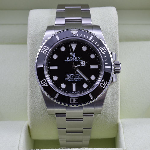Rolex Submariner No Date 114060 - Like NEW - Box & Papers