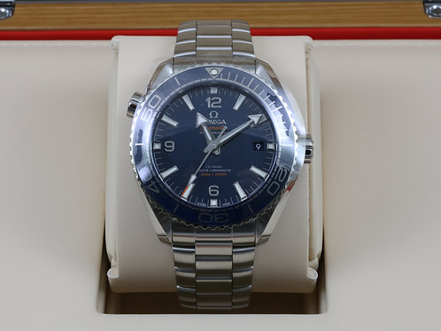 Omega Seamaster Planet Ocean 8900 Blue Steel 43.5mm 215.30.44.21.03.001 NEW 2017