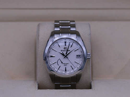 """Grand Seiko SBGE249 GMT Spring Drive """"Blizzard"""" - 2019 Box & Papers"""