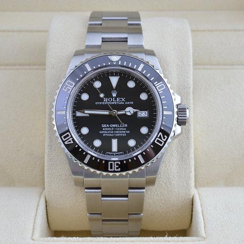 Rolex Sea-Dweller 116600 Ceramic  2014 Box & Paper