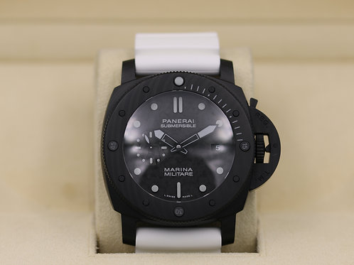 Panerai Submersible Marina Militare Carbotech PAM 979- 2019 Complete!