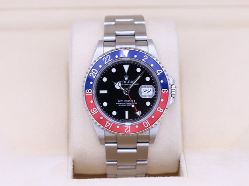 Rolex GMT Master II 16710 Pepsi - Z Serial - Box & Papers