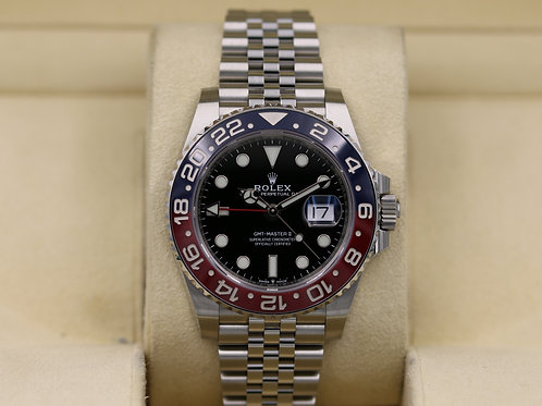 Rolex GMT Master II Pepsi 126710BLRO Stainless - 2019 Box & Papers