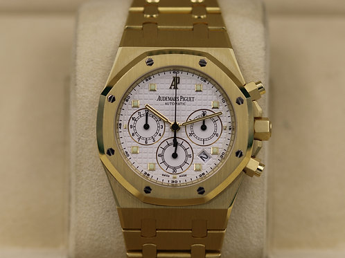 Audemars Piguet Royal Oak Chrono 25960BA.OO.1185BA.01 Yellow Gold - Box & Papers