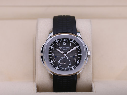 Patek Philippe Aquanaut 5164A Travel Time Stainless - Box & Papers