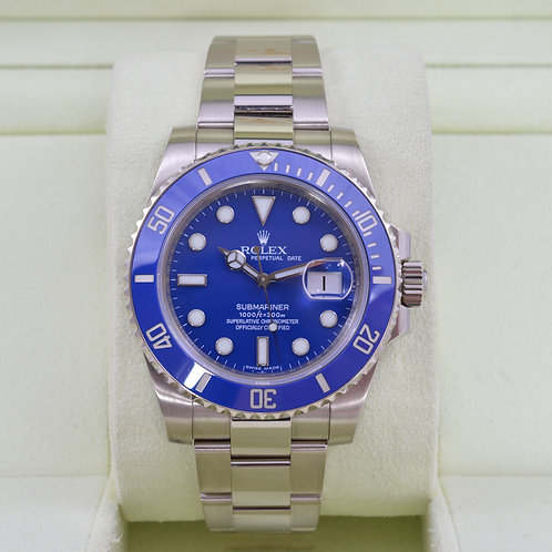Rolex Submariner 116619 18K White Gold - Box & Papers