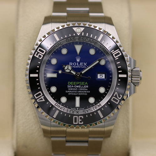Rolex DeepSea Sea-Dweller 126660 D-Blue - 2019 Unworn