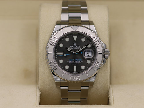 Rolex Yacht-Master 116622 Rhodium Dial Stainless - Box & Papers