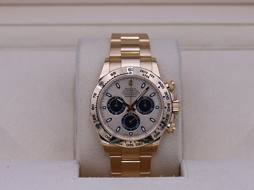 Rolex Daytona 116508 Yellow Gold Champagne/Black Dial - 2019 Box & Papers