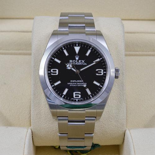 Rolex Explorer I 214270 - Full Lume Dial - Brand New