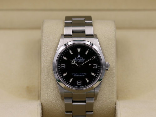 Rolex Explorer I 114270 36mm Stainless - Box & Papers