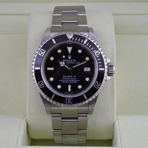 Rolex Sea-Dweller 16600 - F Serial Box & Papers