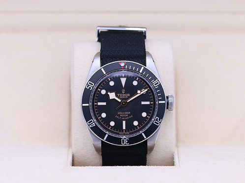 Tudor Heritage Black Bay Black 79220N ETA Rose Dial - Box & Papers