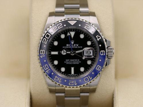 "Rolex GMT-Master II 116710BLNR ""Batman"" Ceramic - 2017 Box & Papers"