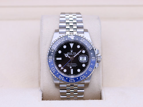 Rolex GMT Master II 126710BLNR Batman Stainless - 2019 Box & Papers