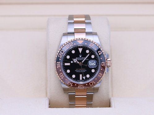 Rolex GMT Master II 126711 Rootbeer Two-Tone - 2019 Box & Papers