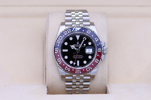 Rolex GMT Master II Pepsi 126710BLRO Stainless - Box & Papers 2020