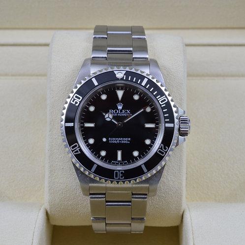 Rolex Submariner 14060 No Date - U Serial