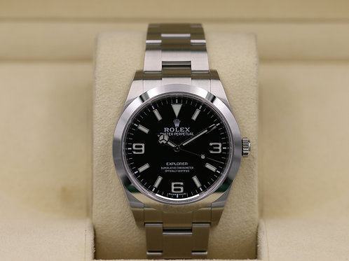 Rolex Explorer I 214270 Full Lume Dial 39mm - 2019 Unworn
