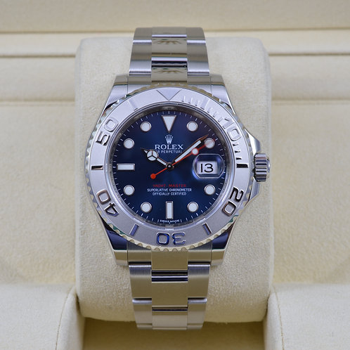 Rolex Yacht-Master 116622 Blue Dial - 2014 Box & Papers
