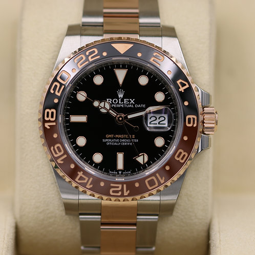 Rolex GMT Master II Rootbeer 126711CHNR Everose Gold - 2019 Box & Papers