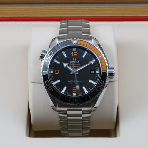 Omega Seamaster Planet Ocean 8900 Black/Orange 43.5mm SS 215.30.44.21.01.002 NEW