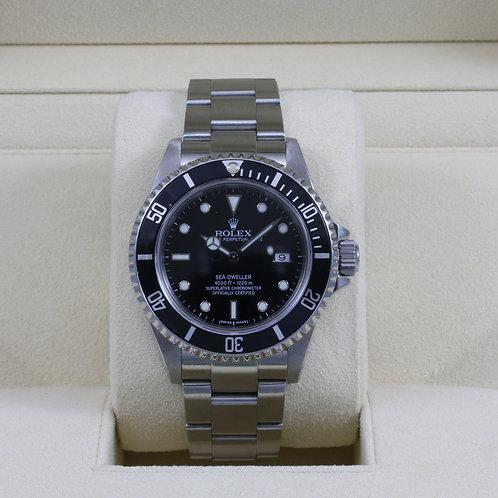 Rolex Sea-Dweller 16600 - A Serial - Box & RSC
