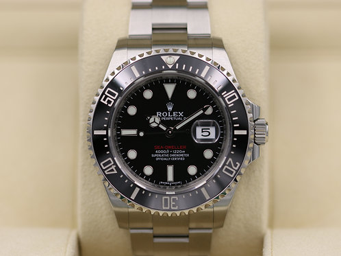 Rolex Sea-Dweller 126600 SD43 Red 50th Anniversary 43mm - 2018 Box & Papers