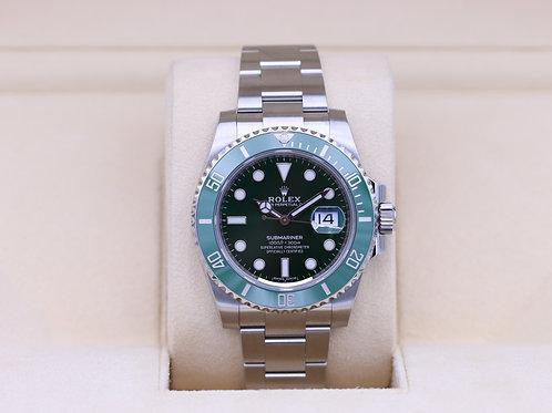 Rolex Submariner Date 116610LV Hulk Green - 2020 Unworn