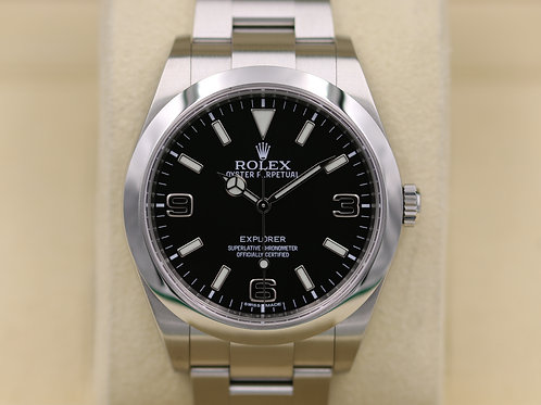 Rolex Explorer I 214270 Stainless Steel 39mm - Box & Papers