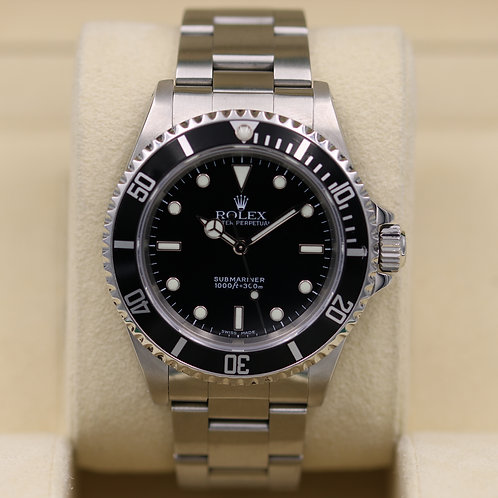 Rolex Submariner No Date 14060M - Y Serial - Box & Papers