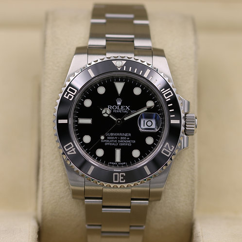 Rolex Submariner Date 116610LN Black Dial - Box & Papers