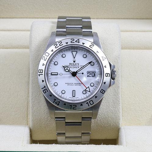 Rolex Explorer II 16570 White - V Serial 3186 Movement
