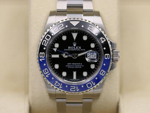 "Rolex GMT-Master II 116710BLNR ""Batman"" Ceramic - 2018 Unworn"