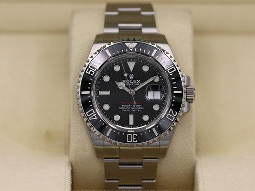 FSOT: Rolex Sea-Dweller 126600 SD43 Red 50th Anniversary 43mm - 2019 Unworn!