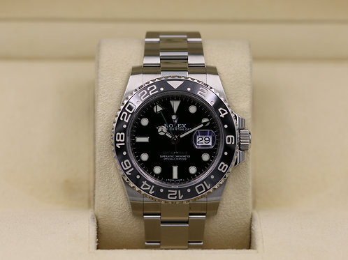 Rolex GMT Master II 116710LN Black - 2019 Box & Papers