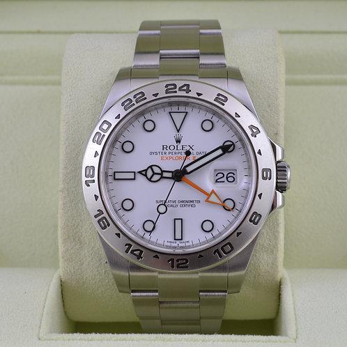 Rolex Explorer II 216570 Polar 42mm - Box & Papers
