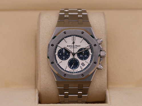 Audemars Piguet Royal Oak Chrono 26315 Panda Dial 38mm -  Box & Papers