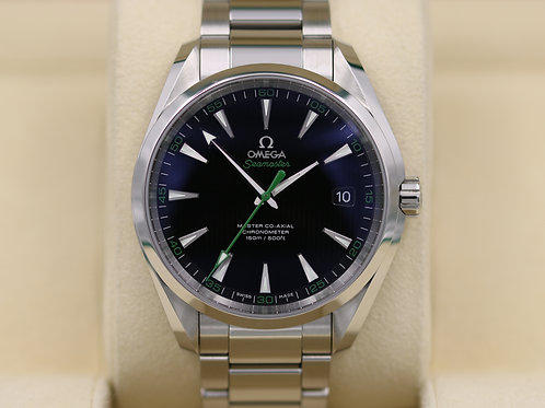 Omega Seamaster Aqua Terra Golf 41.5mm 231.10.42.21.01.004 - 2016 Box & Papers