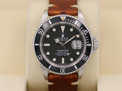 Rolex Submariner 16800 Matte Dial 7.1 Million Serial