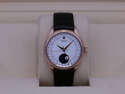 Rolex Cellini 50535 18k Rose Gold Moonphase - 2019 Box & Papers