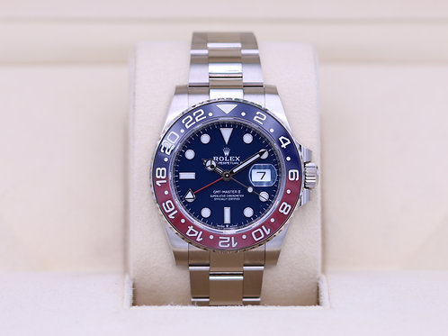 Rolex GMT Master II 126719BLRO White Gold Blue Dial - 2019 Box & Papers