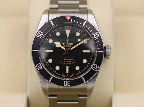 Tudor Heritage Black Bay Black 79220N Bracelet ETA Rose Dial - Box & Papers!