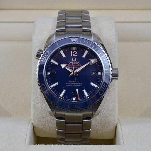 Omega Seamaster Planet Ocean 600m Titanium 8500 Blue 232.90.42.21.03.001