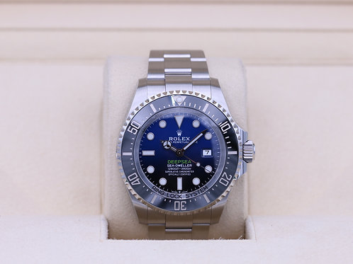 Rolex DeepSea Sea-Dweller 126660 D-Blue - 2020 Box & Papers