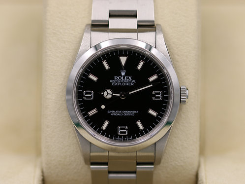 Rolex Explorer I 14270 36mm Stainless Steel - U Serial - Box & Papers