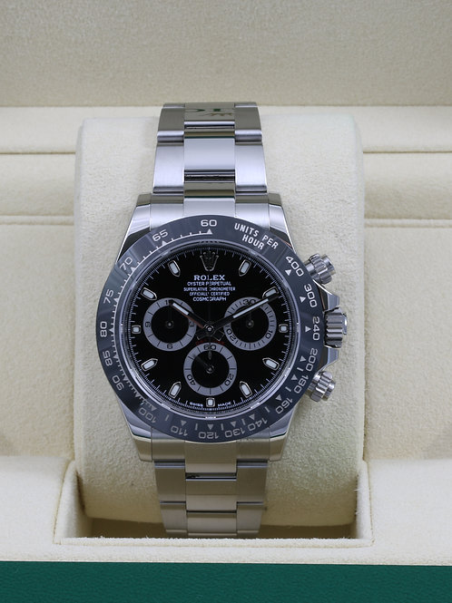 Rolex Daytona 116500 Ceramic Black Dial - 2016 Box & Papers