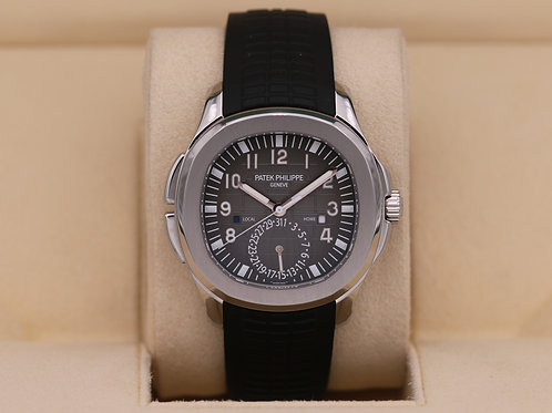Patek Philippe Aquanaut 5164A Travel Time Stainless - 2018 Box & Papers