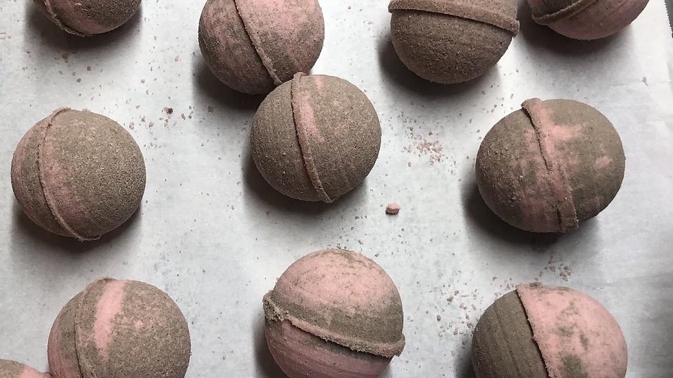 Chocolate Cherry Bath Bomb